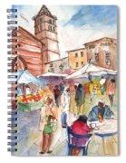 Sineu Market In Majorca 01 Spiral Notebook