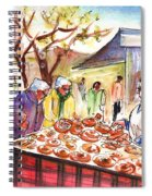 Sineu Market In Majorca 04 Spiral Notebook