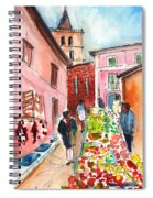 Sineu Market In Majorca 05 Spiral Notebook