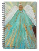 Sing Your Heart Out Angel Spiral Notebook
