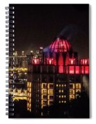 Singapore At Night Spiral Notebook