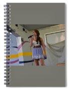Singer # 20b Spiral Notebook