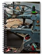 Singer 29k71 Spiral Notebook