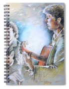 Singer And Guitarist Flamenco Spiral Notebook