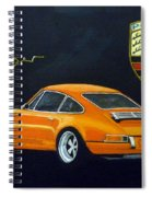 Singer Porsche Spiral Notebook