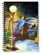 Singin In The Rain Spiral Notebook