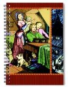 Singing Away November's Rain Spiral Notebook