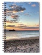 Singing Beach Manchester Ma Sunrise Island Spiral Notebook