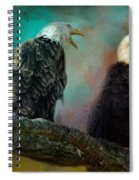 Singing Her A Spring Song Spiral Notebook