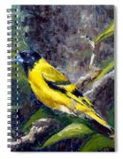 Singing Into A New Year Spiral Notebook