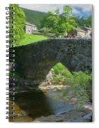 Single Arch Stone Bridge - P4a16018 Spiral Notebook