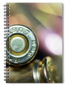 Single Luger Spiral Notebook