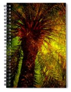 Single Palm Spiral Notebook