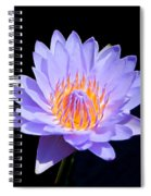 Single Water Lily Spiral Notebook