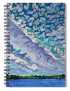 Singleton Altocumulus Morning Spiral Notebook