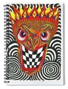 Sinister King Spiral Notebook