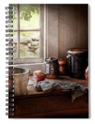 Sink - The Morning Chores Spiral Notebook