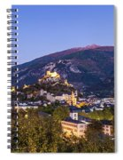 Sion At Night Spiral Notebook