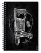 Sioux Drill Motor 1/2 Inch Bw Spiral Notebook
