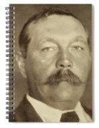 Sir Arthur Conan Doyle, 1859 -1930 Spiral Notebook