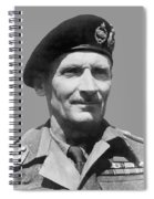 Sir Bernard Law Montgomery  Spiral Notebook