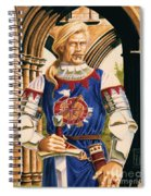 Sir Dinadan Spiral Notebook