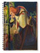Sir Galahad At The Ruined Chapel Spiral Notebook