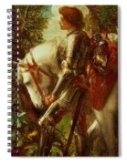 Sir Galahad Spiral Notebook