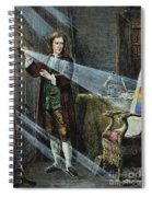 Sir Isaac Newton Spiral Notebook
