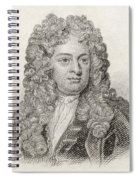Sir John Vanbrugh, 1664 To 1726 Spiral Notebook