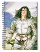 Sir Lancelot Spiral Notebook