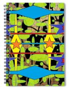Sir Mbonu Christhe Arts Of Textile Designs #30 Spiral Notebook