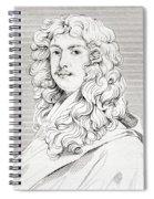 Sir Peter Lely, 1618 Spiral Notebook