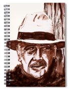 Sir Sean Connery Spiral Notebook
