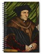 Sir Thomas More Spiral Notebook