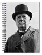 Sir Winston Churchill Spiral Notebook