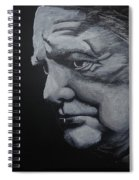 Sir Winstone Churchill Spiral Notebook