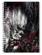 Siren Of The Crimson Forest  Spiral Notebook