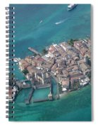 Sirmione's Castle Spiral Notebook