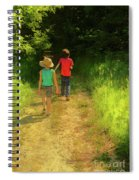 Sister And Brother Spiral Notebook