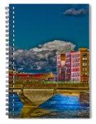 Sister Cities Pedestrian Bridge Spiral Notebook