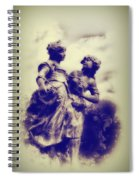 Sisters - Ink  Spiral Notebook