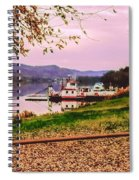 Sisters Ville Ferry Spiral Notebook