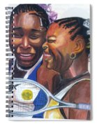 Sisters Williams Spiral Notebook