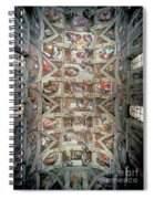 Sistine Chapel Ceiling Spiral Notebook