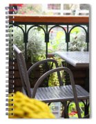 Sit A While Spiral Notebook