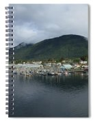 Sitka Alaska From The John O'connell Bridge Is A Cable-stayed Bridge 2015 Spiral Notebook