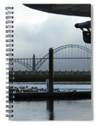 Sittin On The Dock Of The Bay 2300 Spiral Notebook