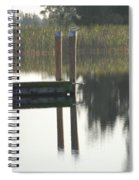 Sitting Bird Spiral Notebook