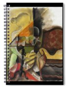 Sitting Figure II Spiral Notebook